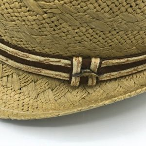 615f598adc2d4 Tommy Bahama Accessories - Tommy Bahama Men s Fedora Straw Hat NWOT